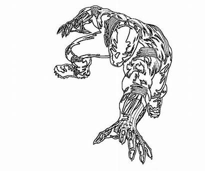 Panther Coloring Pages Printable Marvel Colouring Blackpanther
