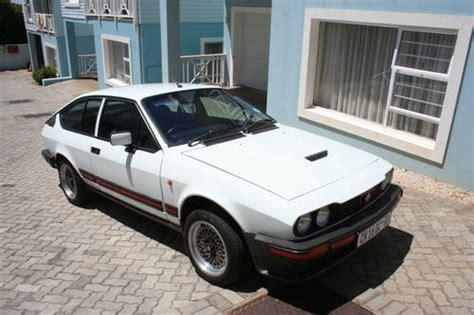1984 Alfa Romeo Gtv6 3.0 Homologation Rhd Sold