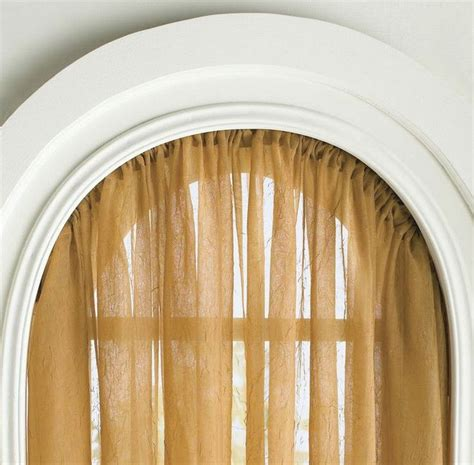 curtain rod for arched window 1