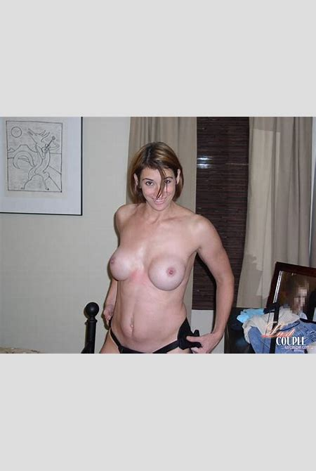 Wife rides her cuckold husband with a strapon - Pichunter
