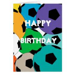 Soccer Ball Happy Birthday Card