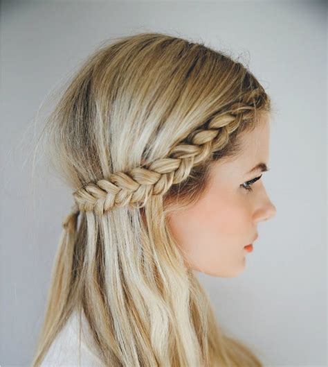 11 easy hairstyles for snowy days brit co