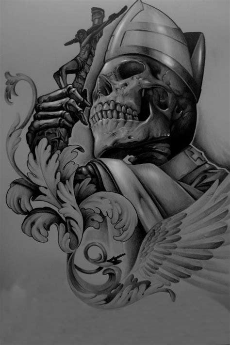 elvin yong skull pinterest