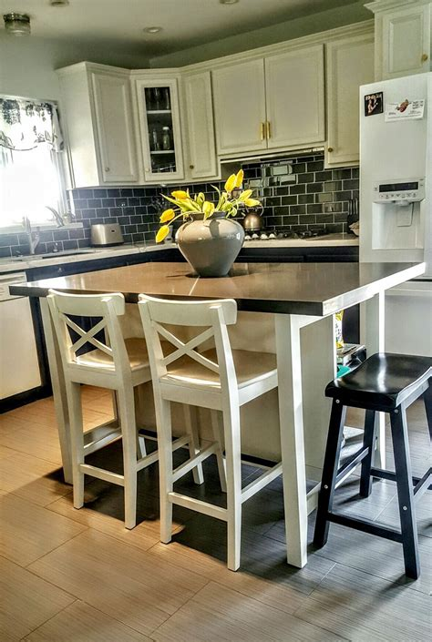ikea kitchen island for ikea stenstorp kitchen island we added grey 7461