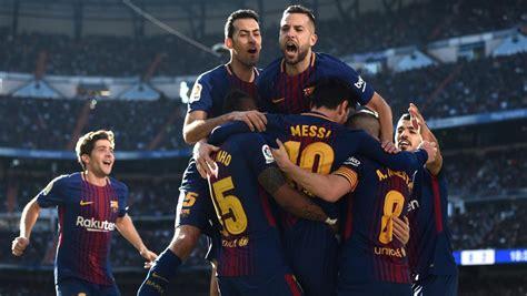 Real Madrid - Barcelona: Resultado, resumen y goles del ...