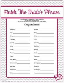 free printable bridal shower party invitations ideas