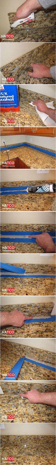 removing top after caulking granite countertop re