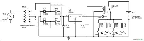 Impex Emergency Light Circuit Diagram Images