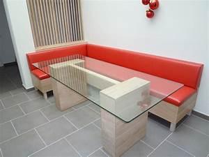 Banquette Sur Mesure : salle a manger avec banquette fabulous la table avec ~ Premium-room.com Idées de Décoration