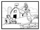 Farm Coloring Farming Scene Colouring Scenes Preschool Printable Tractor Animal Drawing Bestcoloringpagesforkids Crops Pretty Animals Farms Getdrawings Preschoolers Popular Adult sketch template