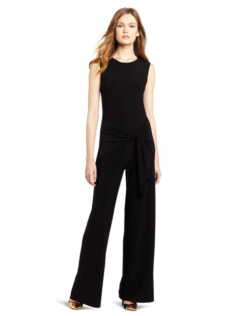 womens jumpsuit black and white formal jumpsuits hairstyle 2013