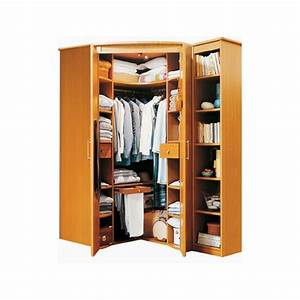 fly armoire angle With dressing meuble d angle