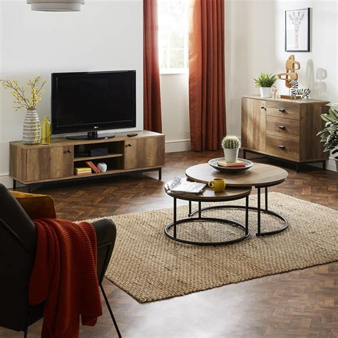 wood furniture living room collections side