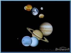 Animated 3D Solar System - Pics about space