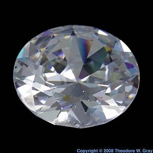 Gem Cut Cubic Zirconia Just To Fool People  A Sample Of