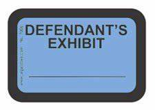 Amazoncom legalstore exhibit labels quotdefendant39s for Defendant s exhibit stickers