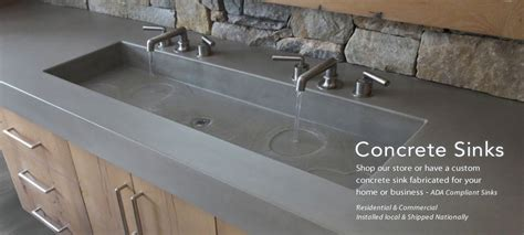 how to make a cement sink trueform concrete custom tables sinks counters