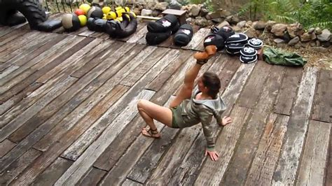 thrust squat primal variations woman movement visit kettlebell beast