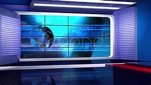 News TV Studio Set 35