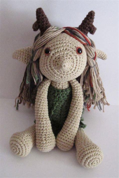 fairy amigurumi handmade crochet doll  himawariland