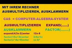 Logarithmus Berechnen Ohne Taschenrechner : video ausklammern mit dem rechner so geht 39 s ~ Themetempest.com Abrechnung