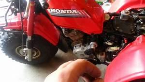 1986 Honda Atc 250es Big Red Brakes Part 2