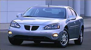 2004 Grand Prix Gt Specs by 2004 Pontiac Grand Prix Specifications Car Specs Auto123