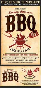Barbecue bbq flyer template flyerstemplates for Barbeque flyer template