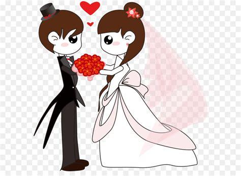 pernikahan kartun tulisanviralinfo