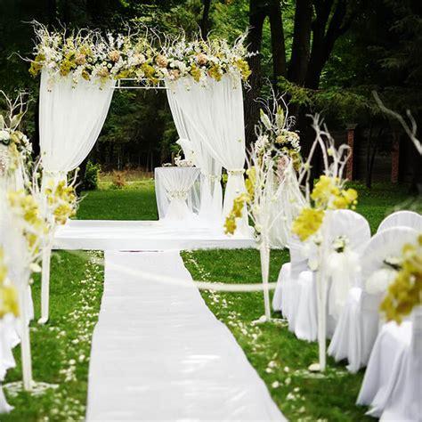 Garten Trauung by Hochzeit Im Gr 252 Nen Galerie Hochzeitsportal24