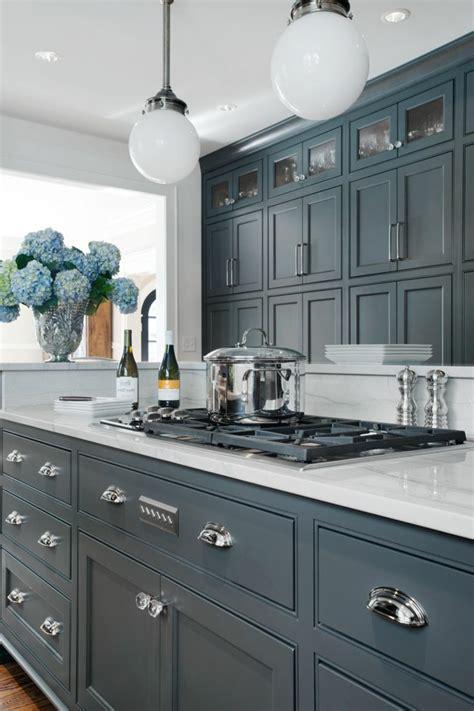 meuble de cuisine gris anthracite deco cuisine grise anthracite