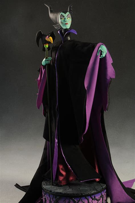 sleeping beauty maleficent premium format statue