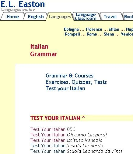 italian language test 45 best learn italian quiz test exercises images on