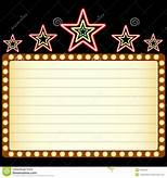 Hollywood Lights Border Clipart 39