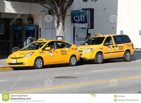 Los Angeles Taxi Editorial Photo