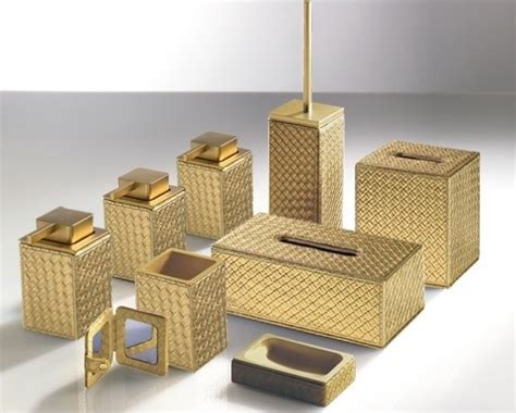 Marrakech Gold Bathroom Accessories-contemporary