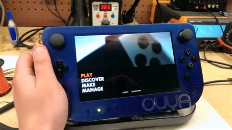Modder Creates Portable Ouya For Gaming On The Go