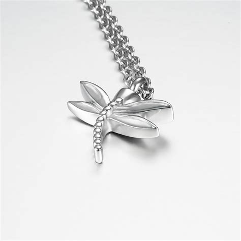 marlary dragonfly cremation urn jewelry pendant  hold
