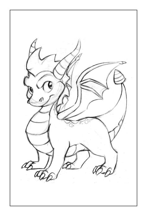 Dragon Coloring Pages Dragon coloring page Baby dragon