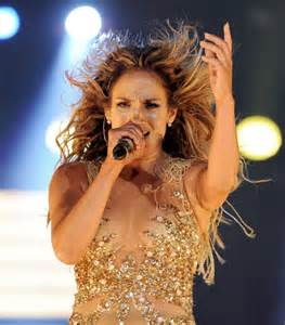 Jennifer Lopez as a Singer