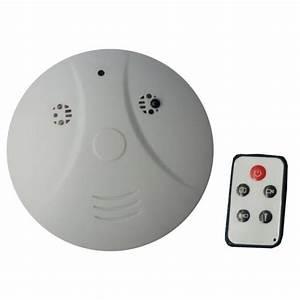 Detecteur De Fumée : micro camera cach e dans d tecteur de fum e ~ Melissatoandfro.com Idées de Décoration