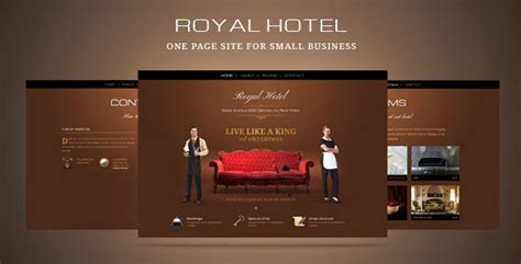 15 Elegant Hotel & Travel Html Website Templates Web