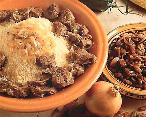 couscous au boeuf  raisins secs couscous recettes