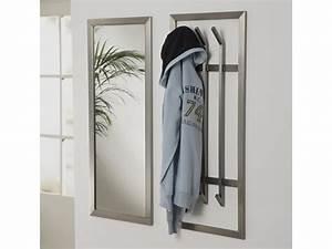 Garderobe Edelstahl Design : wandgarderobe edelstahl flurgarderobe 100x40 matt sale ~ Bigdaddyawards.com Haus und Dekorationen