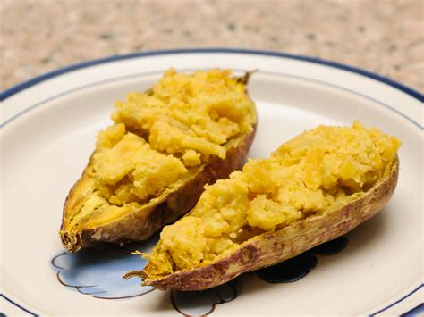 cooking sweet potatoes in microwave 4 ways to cook a sweet potato in the oven wikihow