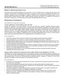 operations executive resume exles this free sle was provided by aspirationsresume