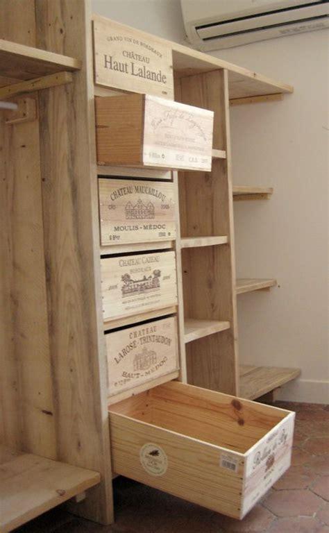 chambrer un vin 1000 idées sur le thème étagères de caisse en bois sur