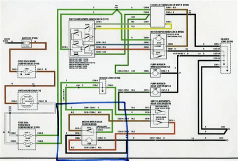 defender wiper motor wiring diagram rear wiper motor wiring defender forum lr4x4 the