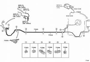 Toyota Yaris Clamp  Fuel Tube  No  1  Tank  Frp  Lid