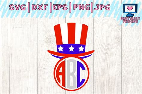 4Th Of July Monogram Svg Free – 436+ File SVG PNG DXF EPS Free
